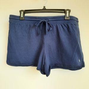 2/$15 Danskin Navy Blue Lounge Shorts size Large